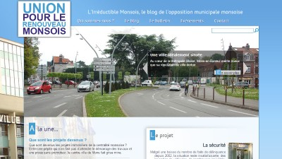 creation site web Irréductible Monsois