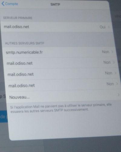 paramétrer votre courriel