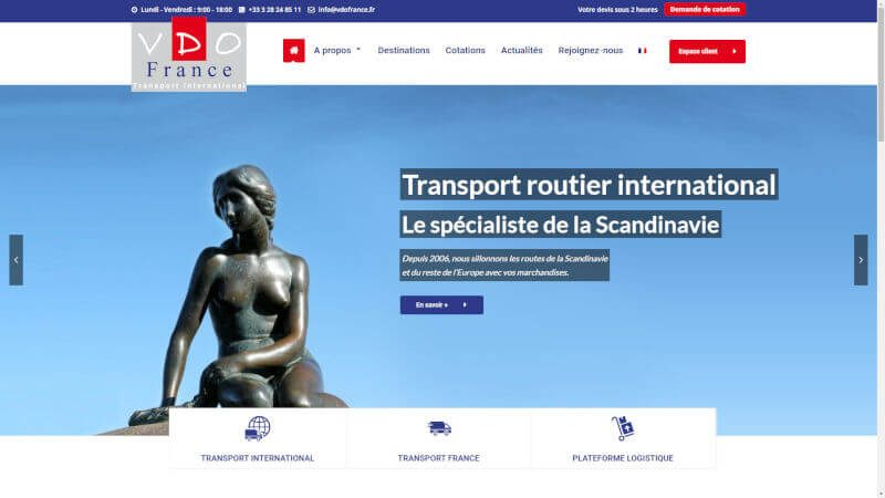 creation site web VDO France
