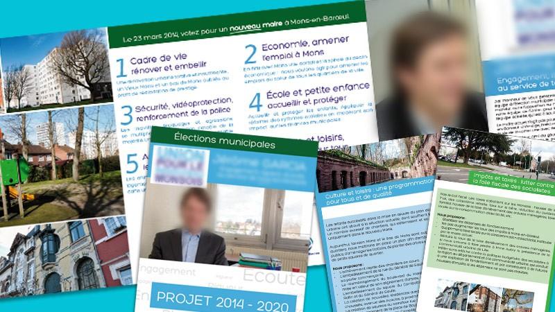 creation site web Ma campagne avec VIVE la VIE