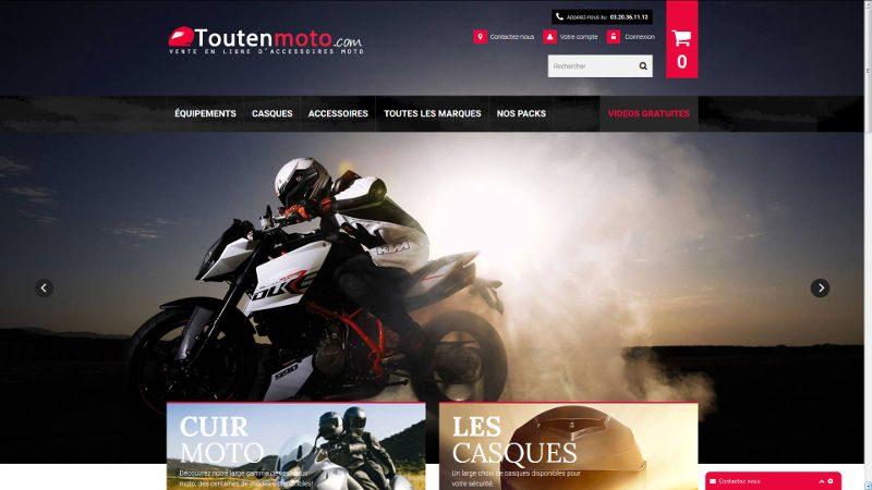 VIVE la VIE a créé le site Tout en Moto