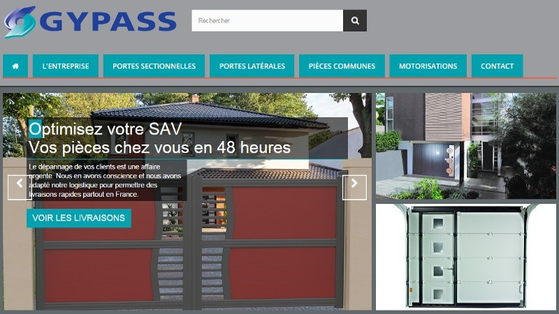 creation site web Gypass pièces
