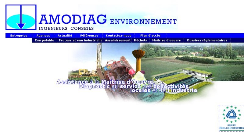 creation site web Amodiag