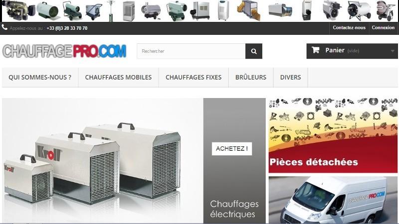 creation site web Chauffage Pro