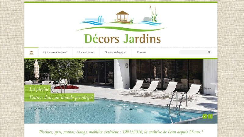creation site web Décors jardins