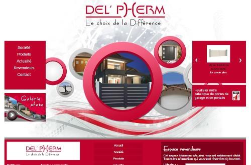 creation site web Delpherm
