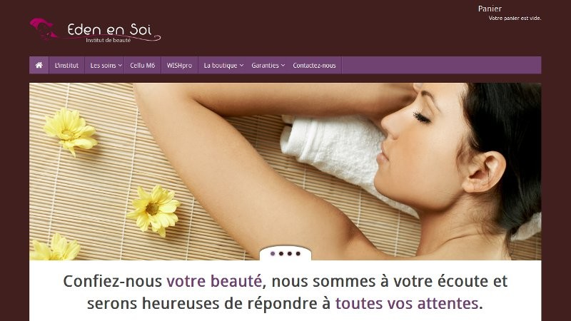 creation site web Eden en Soi