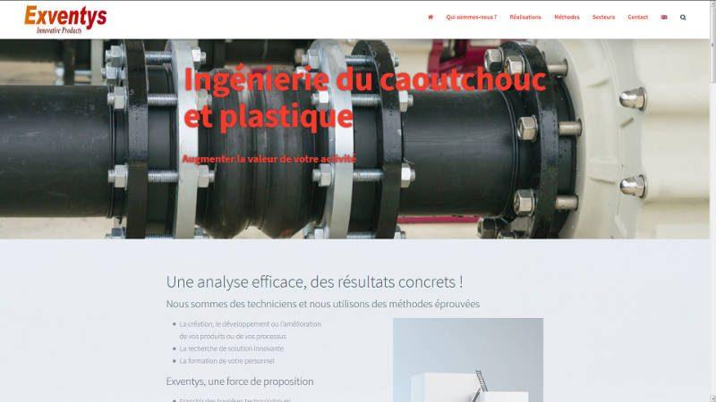 creation site web Exventys