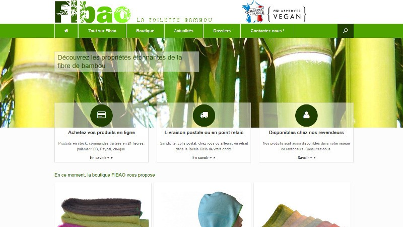 creation site web Fibao