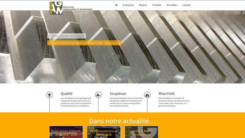 creation site web Atelier du grand Morin