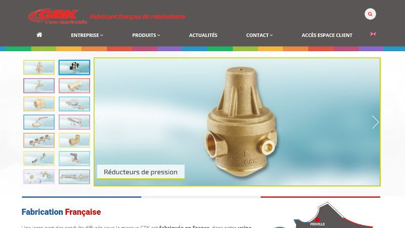 creation site web Grk