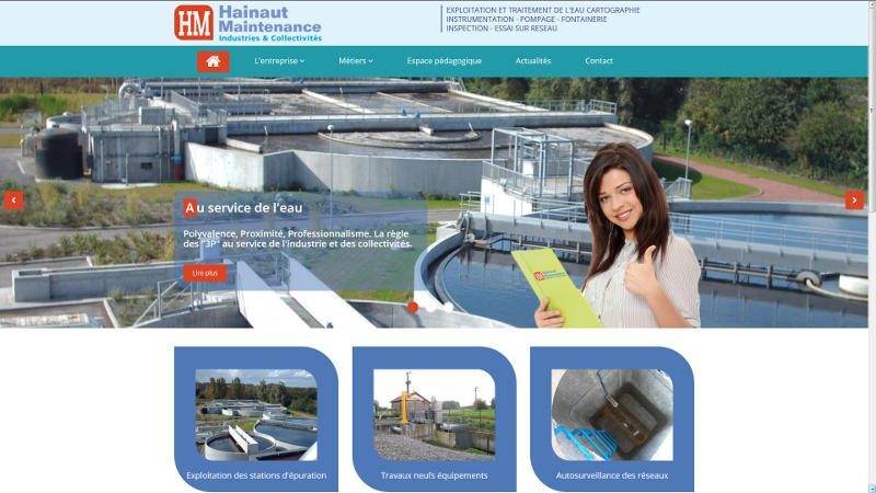 creation site web Hainaut Maintenance