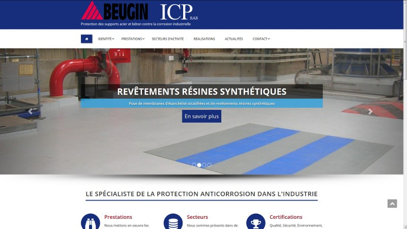 creation site web ICP Beugin