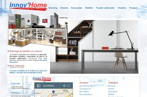 creation site web Innov'home