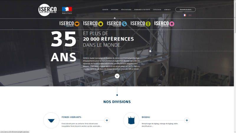 VIVE la VIE a créé le site Iserco