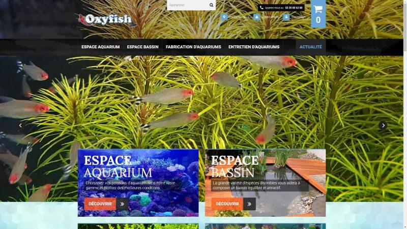 VIVE la VIE a créé le site Oxyfish