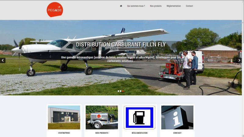 VIVE la VIE a créé le site Pegase Carburant