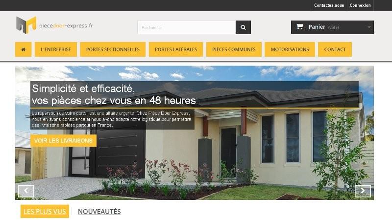 creation site web Piècedoor Express