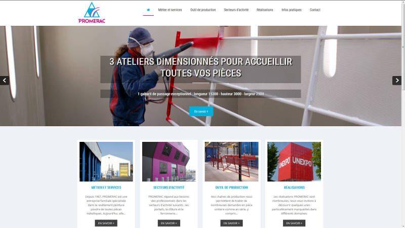 creation site web Promerac