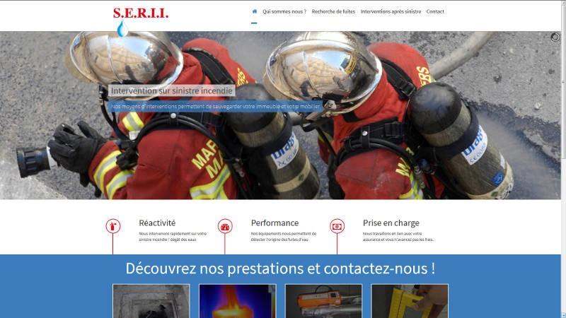 creation site web Serii Dégât des eaux