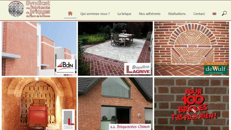 creation site web Briques Nord
