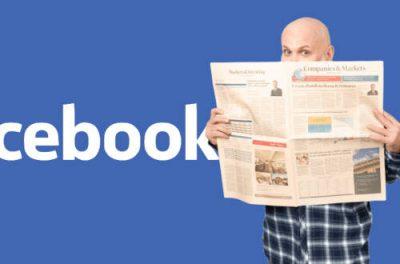 Facebook News paye