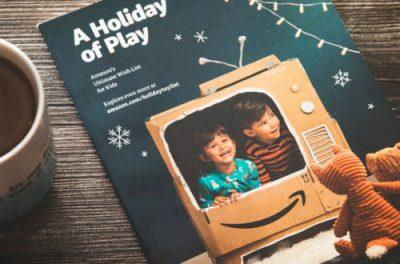 Le Noël papier d'Amazon