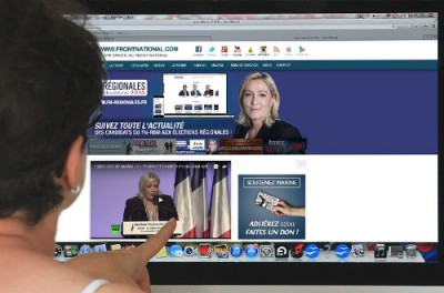 Le FN et le web