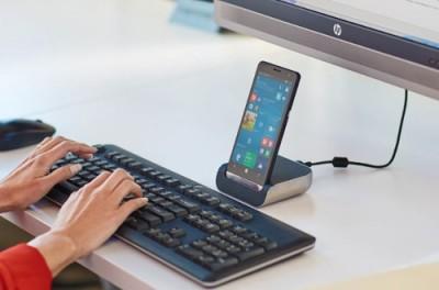Le smartphone de bureau...