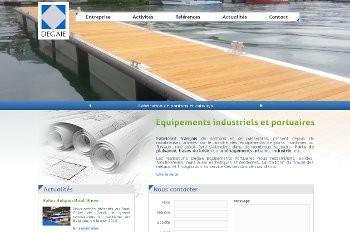 Degaie équipements portuaires, investir un marché de niche