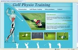 Golf physio training