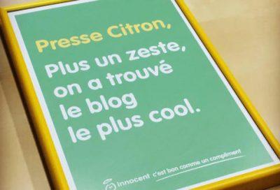 Pourquoi Presse-Citron ?