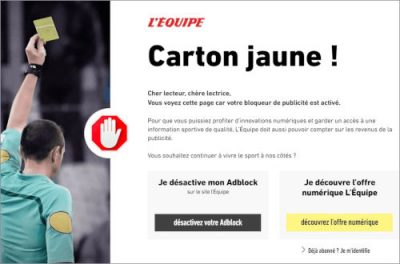 Politique anti adblocking