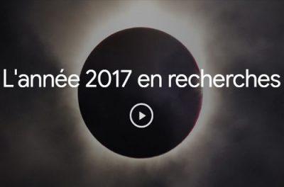 Google, le top recherche 2017