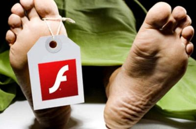Flash dans Chrome, la fin