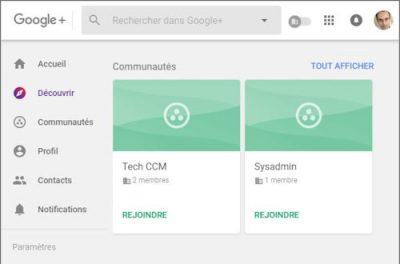 Google+ est mort ? pas sur...