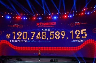 Alibaba : 17,8 milliards de $