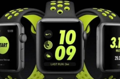 Apple watch en chute