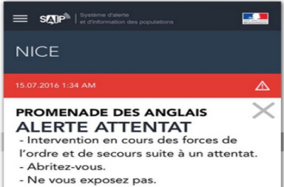 Alerte attentat : trop tard