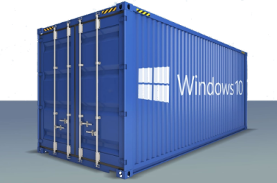 Windows 10 en container