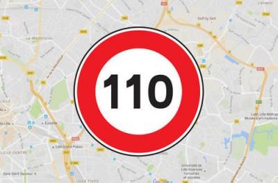 Limites de vitesse sur Google