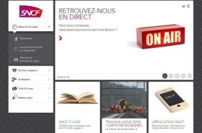 SNCF transporteur numérique