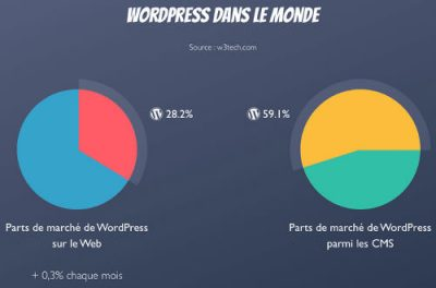 Infographie WordPress