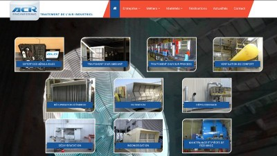 creation site web ACR Engineering