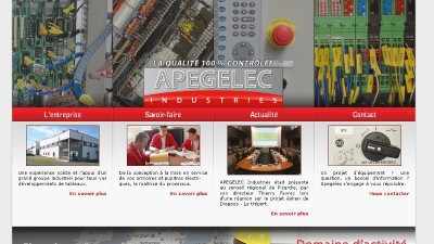 creation site web Apegelec