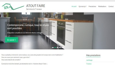 creation site web Atout Faire