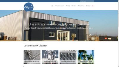 creation site web AX System