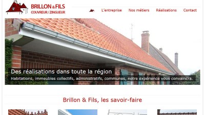 creation site web Brillon Couverture