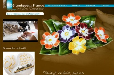 creation site web Céramiques de France