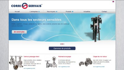 creation site web Corri-Servais